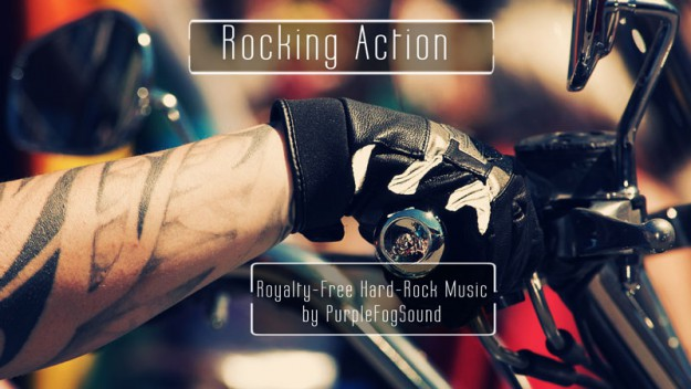 Royalty-Free Hard Rock Music - Rocking Action by PurpleFogSound
