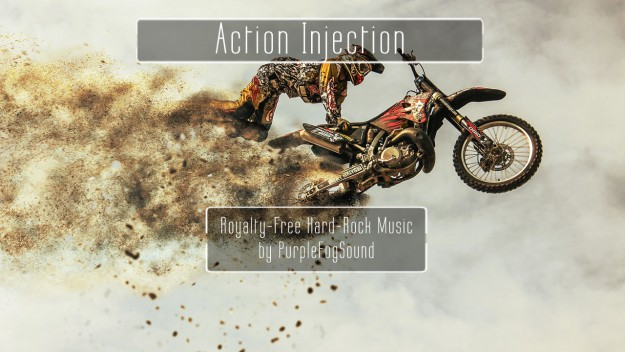 Royalty-Free Hard-Rock Music - Action Injection by PurpleFogSound