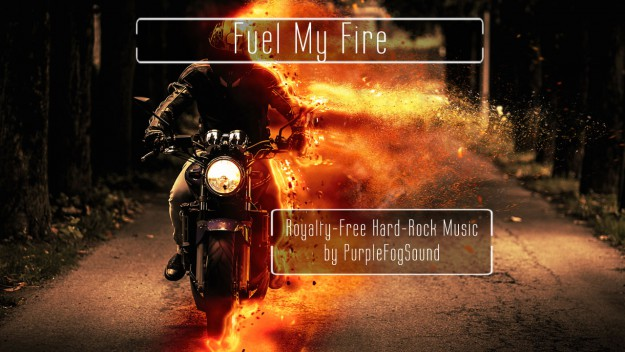 Royalty-Free Hard Rock Music - Fuel My Fire by PurpleFogSound