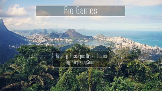 Royalty-Free Brazil Epic Drums - Rio Games by PurpleFogSound