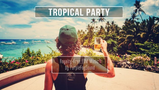 Tropical Party - EDM Music for Media by PurpleFogSound