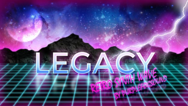 Retro Synth Wave Music for Media - Legacy by PurpleFogSound