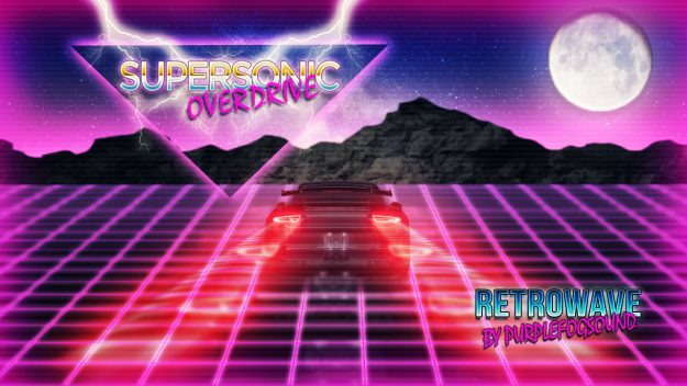 Retro Synth Wave Music for Media - Supersonic Overdrive by PurpleFogSound