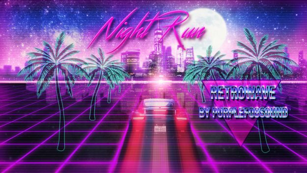 RetroWave Music for Media - Night Run by PurpleFogSound