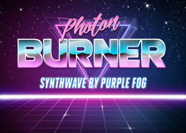 Synthwave Music for Media - Photon Burner by Purple Fog