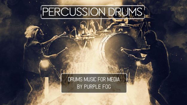 Percussion Drums by Purple Fog Music for Media